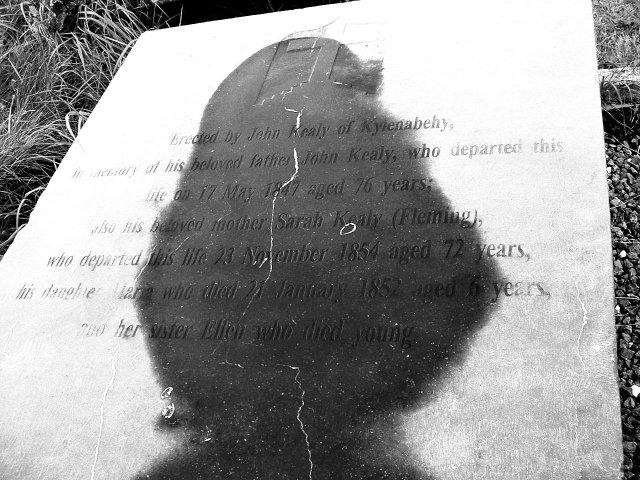Kealy Grave Marker in Ireland