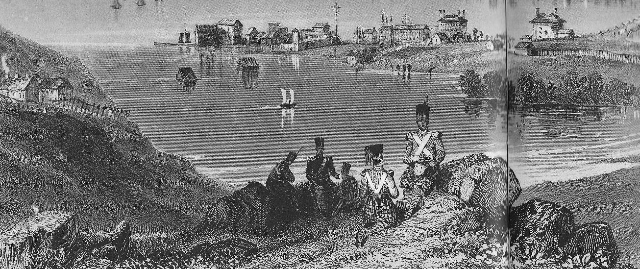 Kingston from Fort Henry