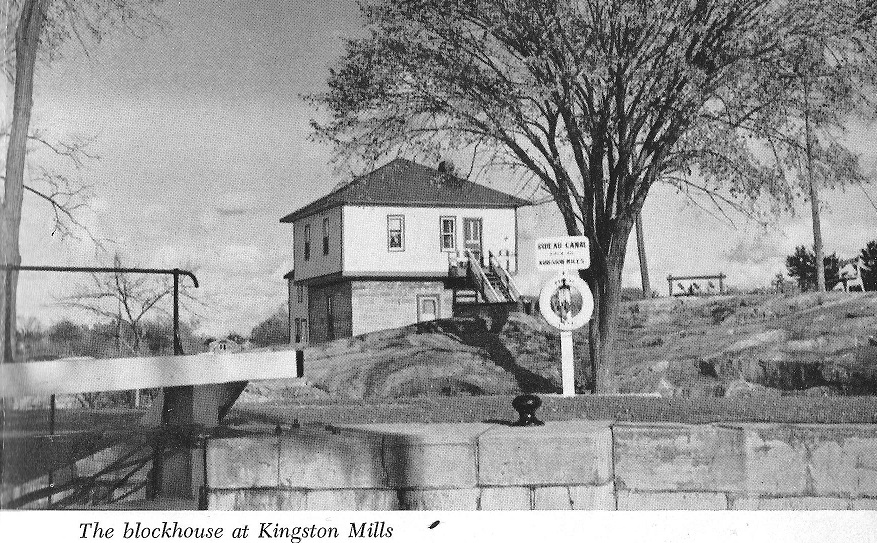 Rideau Canal Block House Pic at Kingston Mills
