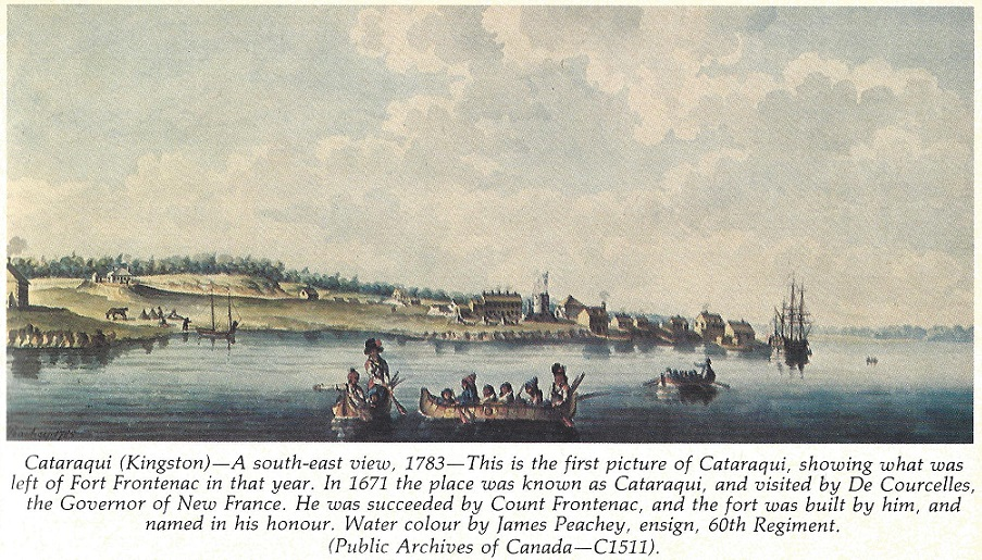 Kingston, Ontario, picture showing remainder of Fort Frontenac