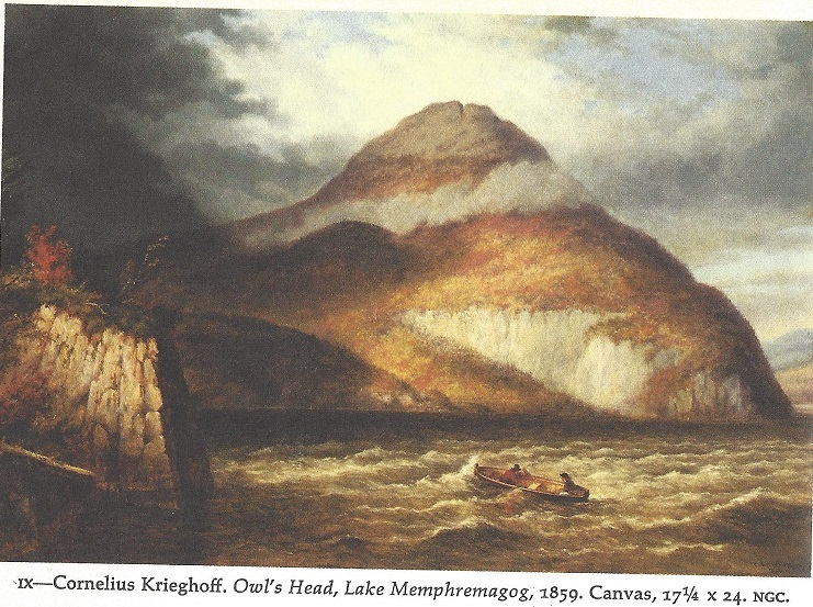 Lake Memphremagog painting by Cornelius Krieghoff