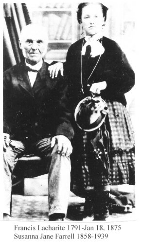 Francis Lacharity and Granddaughter