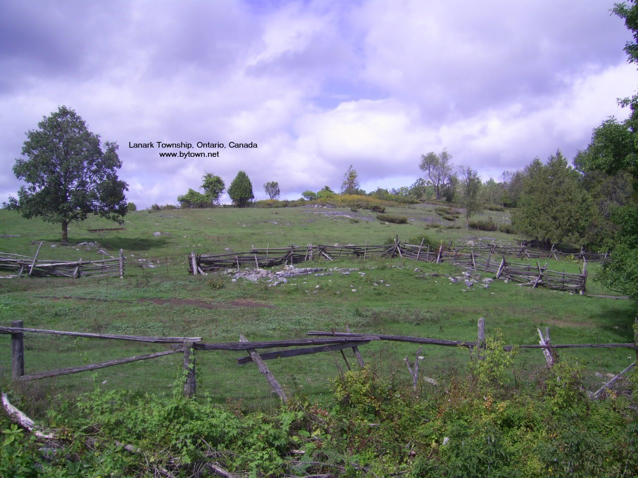 Scene in Lanark Township near Middleville, Ontario