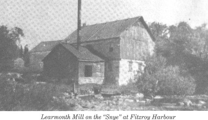 Picture of the Learmonth Mill, Fitzroy Harbour, Ontario, Canada