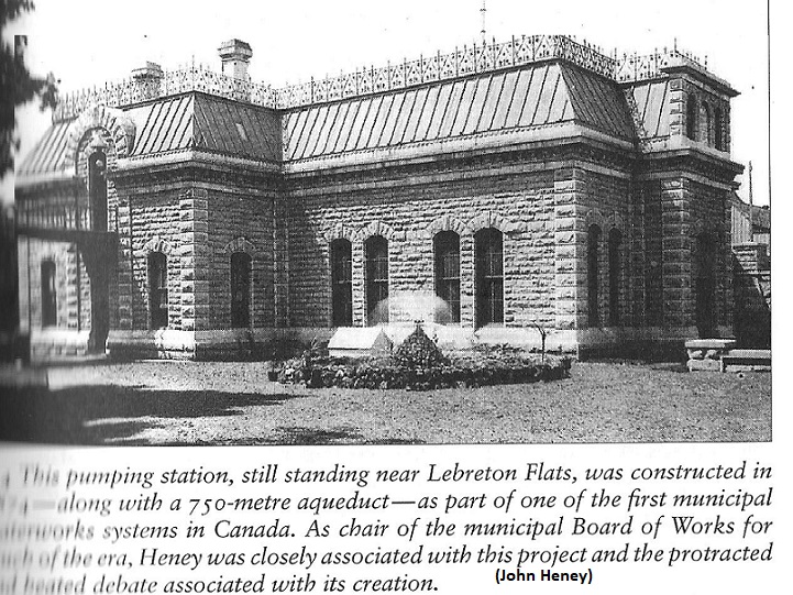 Water Pumping Station at Lebreton Flats, built in 1874