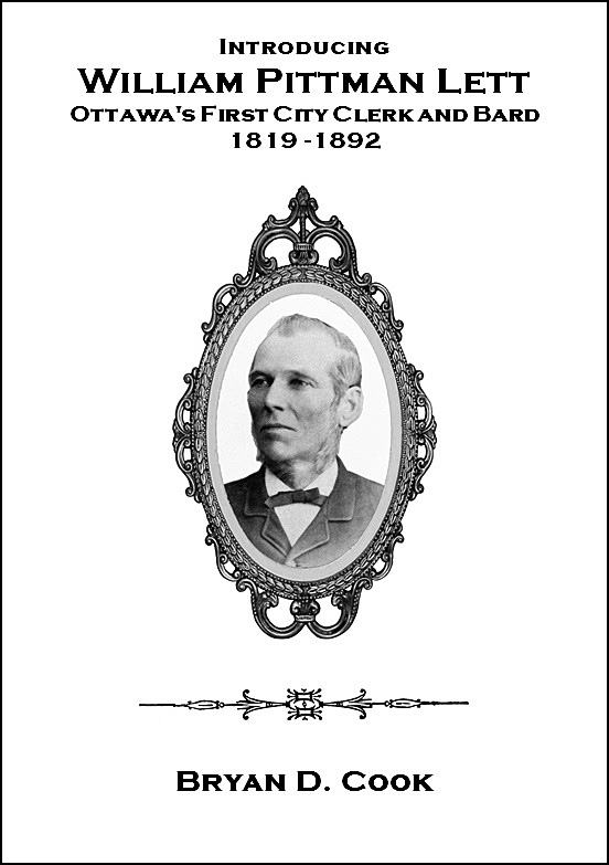 William Pittman Lett, Ottawa, Ontario, Canada