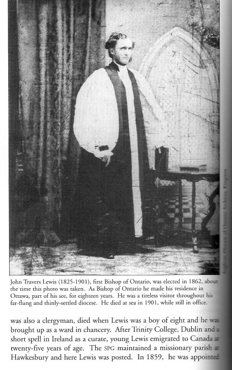Picture of John Travers Lewis, Anglican Bishop