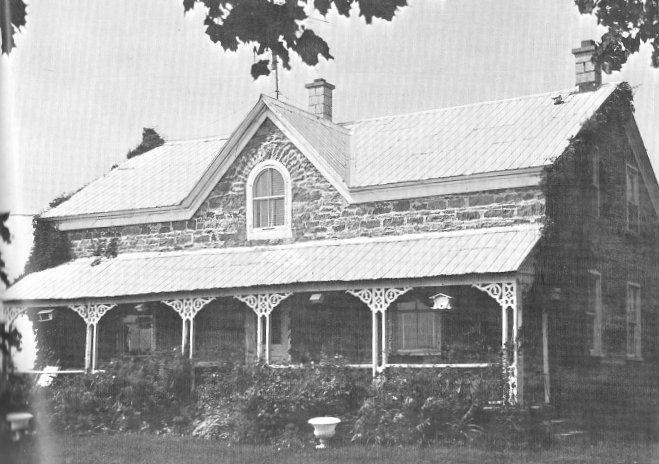 Lindsay House, built 1850, Ottawa, Ontario, Canada