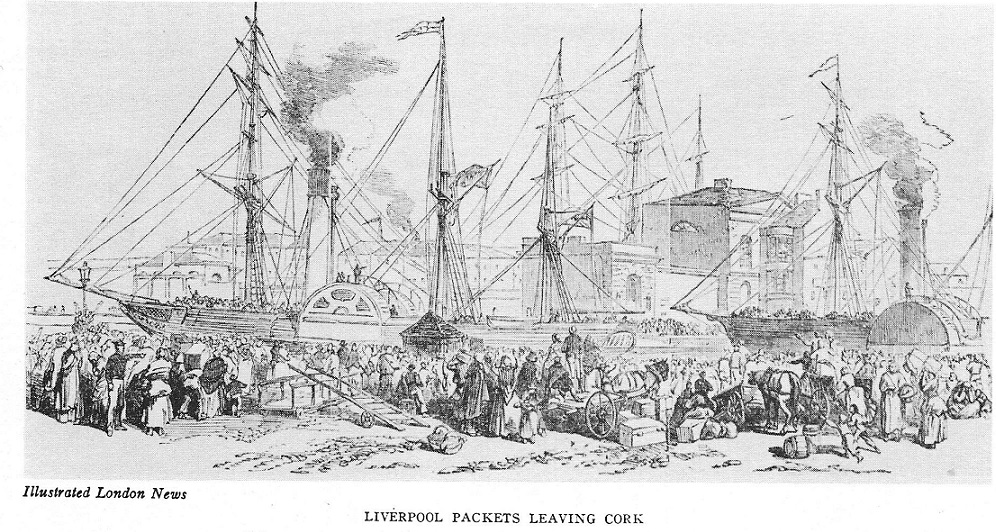 Liverpool Packet Boat, c. 1850