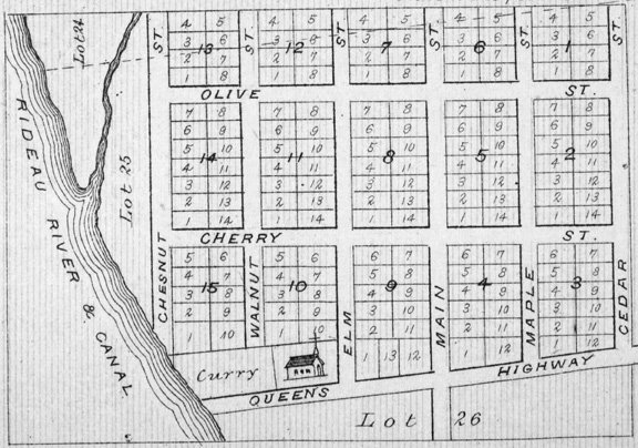 Village Long Island in 1879