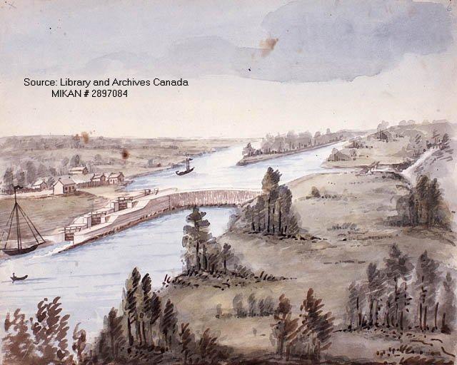 Long Island Painting, Rideau Canal System, Ottawa, Canada