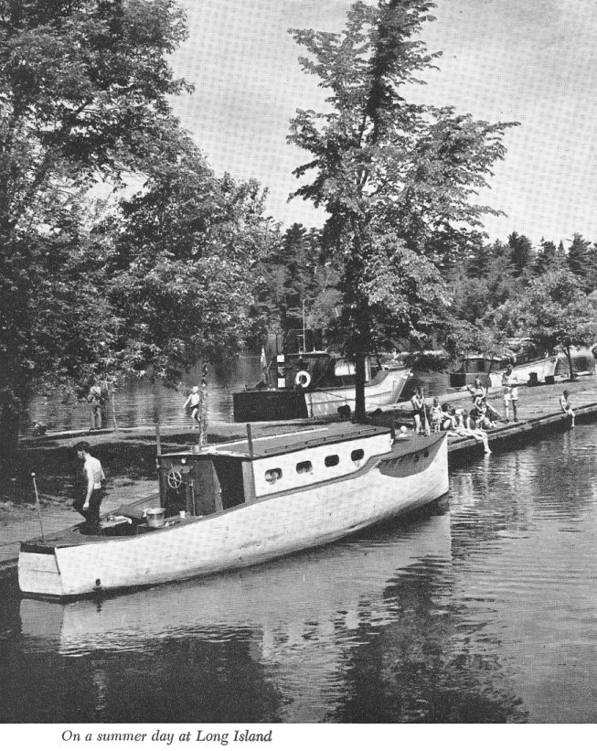 Long Island on the Rideau Canal System, Ontario, Canada