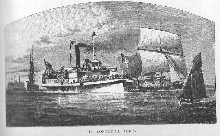 The Ferry at Longueuil
