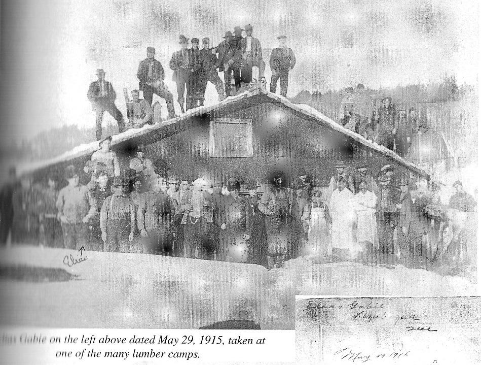 Lumber Camp in the Gatineau