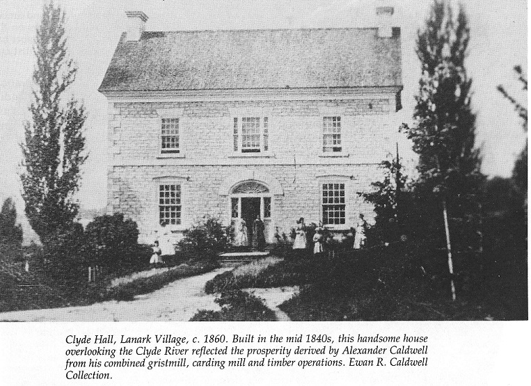 Clyde Hall - home of lumbering baron Alexander Caldwell