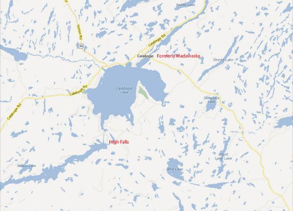 Madawaska Station Map