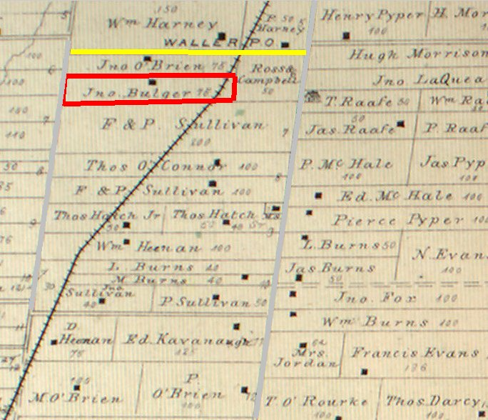 manotick station roadmap 1879, Osgoode Township, City of Ottawa