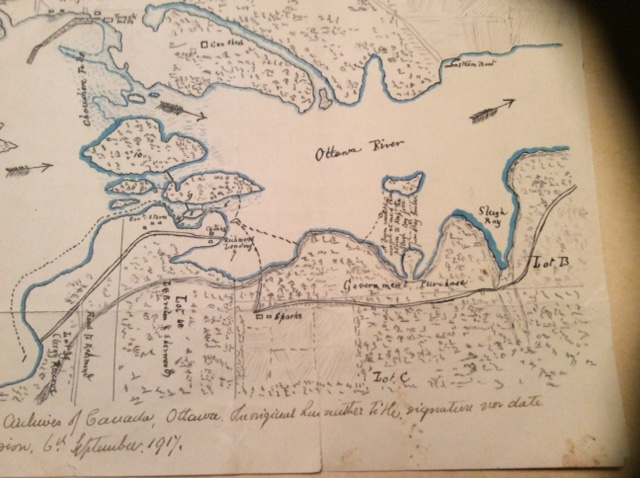 Map before Bytown, Canada was created (2)