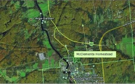 Patrick McClements and Sarah Lynch Farm - Aerial View