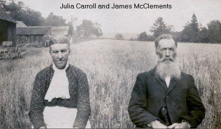 James McClements and Julia Carroll