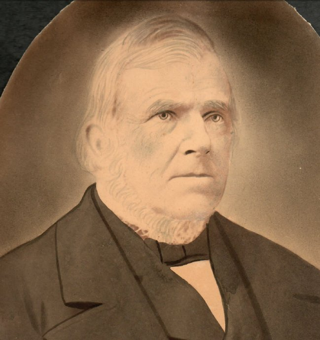 Photograph of Michael McDermott, Land Surveyor in Bytown, 1842 to 1849
