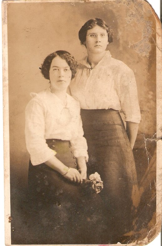 Maggie and Maxine McDougall (sisters)