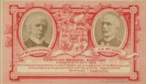 Sir Wilfrid Laurier and Charles A. McCool picture