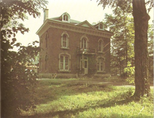 Picture of the McGoey House, Aylmer, Quebec Canada