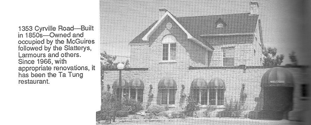 John McGuire / Slattery / Larmour House, built 1850's, Ottawa, Ontario, Canada