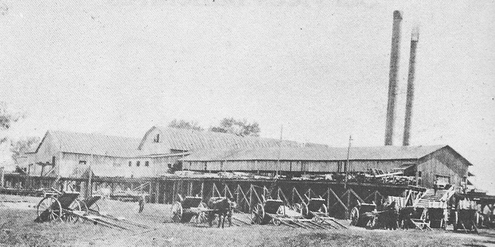 McLaurin Sawmill at Templeton, Quebec