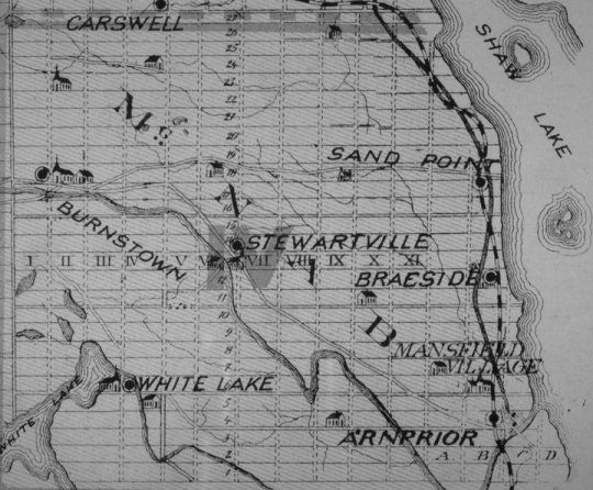 McNab Township, Renfrew County, in 1862