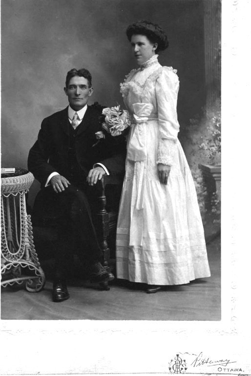 Marriage of Daniel James McNeely and May Lapointe Tierney
