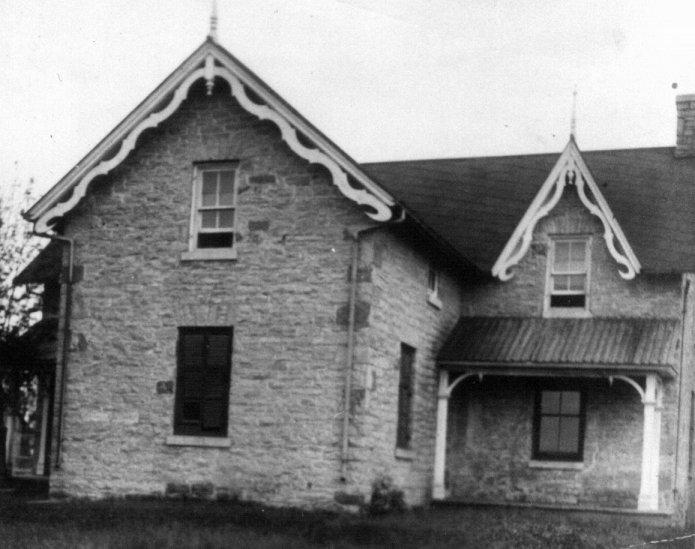 McCurdy Homestead, built 1832
