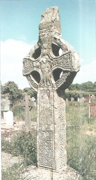 Celtic Cross - from A Concise History of Ireland, page 41