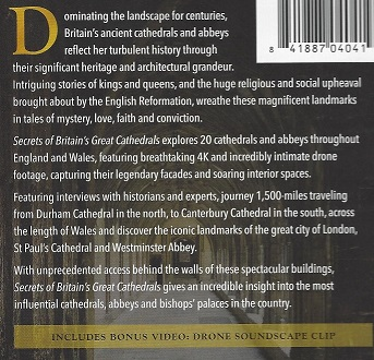 CD - Medieval British Cathedrals - Text