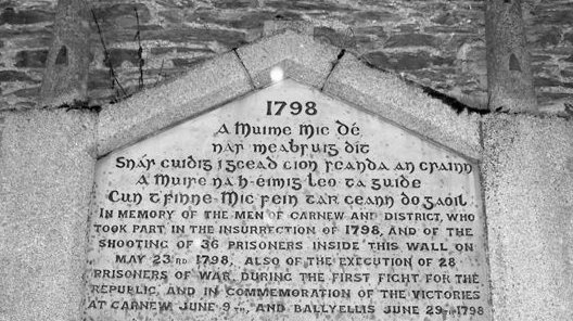 Memorial for 1798 Rebellion, Carnew, County Wicklow