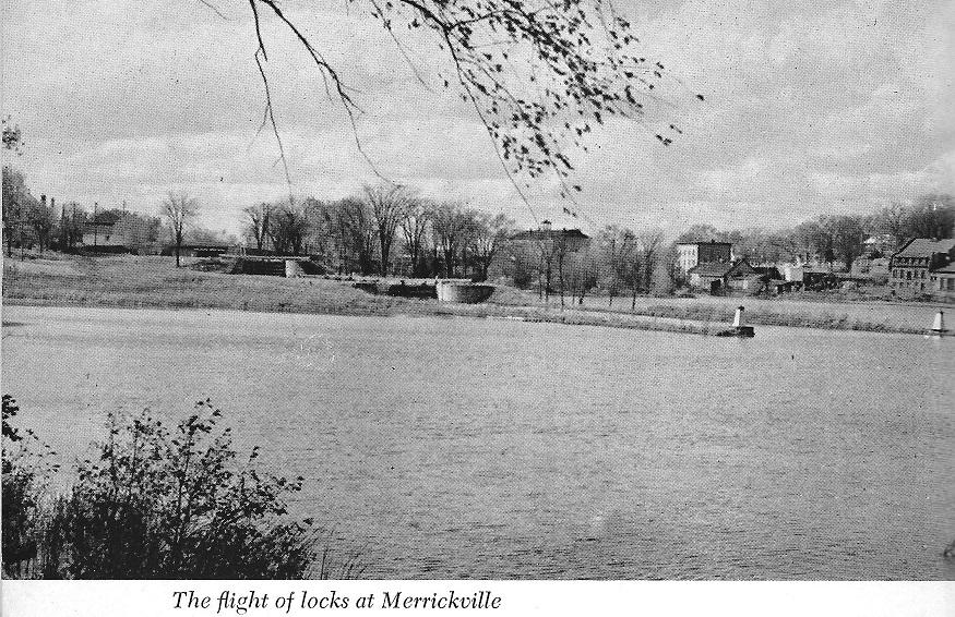 Merrickville - Flight of Locks by Legget
