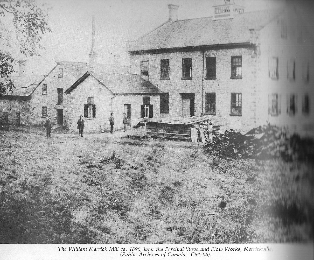 The William Merrick Mill c. 1896