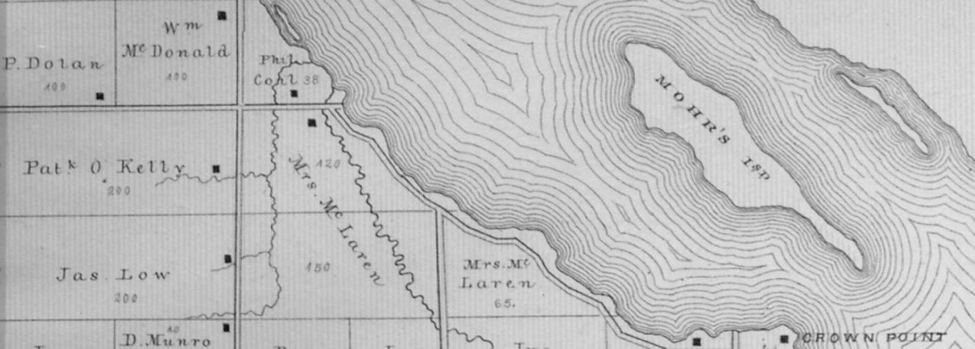 Mohrs Island n the Ottawa River, Quebec, near MacLaren's Landing, Ontario