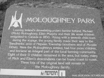 Moloughney Plaque