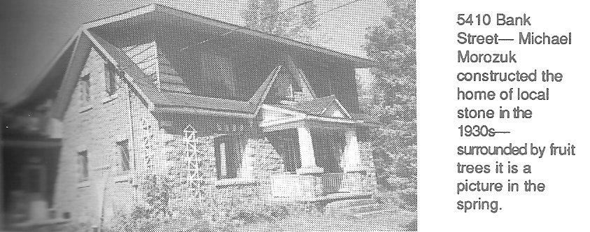 Morozuk Family Stone House, Ottawa, Ontario, Canada