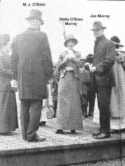 Marriage of Joseph Murray and Stella O'Brien, Renfrew, Ontario, Canada