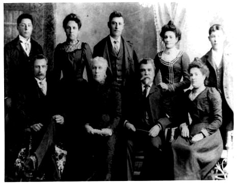 Picture of Joseph Murray and family