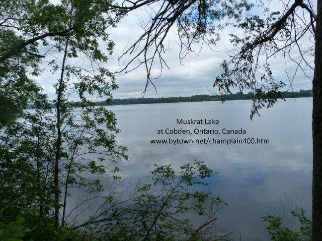 Muskrat Lake at Cobden, Ontario, Canada