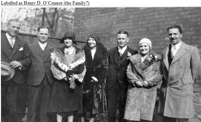 Family of Lawrence O'Connor from Ireland to Nova Scotia to Ottawa, Canada