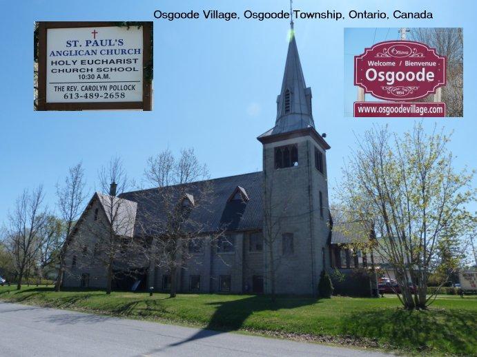 St. Paul's Anglican Church, Osgoode Village, Osgoode Township, Ontario, Canada