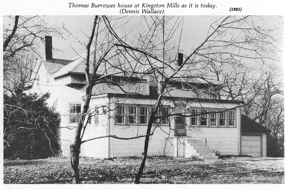 Thomas Burrowes, painter, his house in 1981