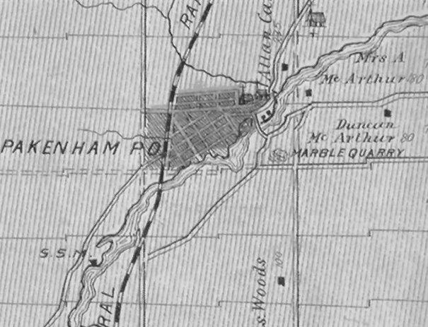 Pakenham, Ontario, Canada in 1879