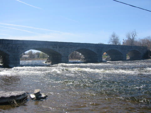 Pakenham, Ontario, Five span Bridge