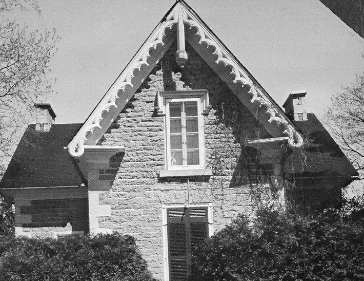 Picture of the home of the Hilliard family at Pakenham, Ontario, Canada